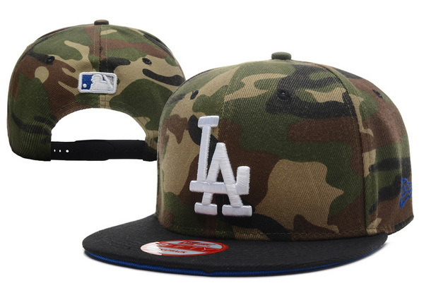 Los Angeles Dodgers Camo Snapback Hat XDF 0701